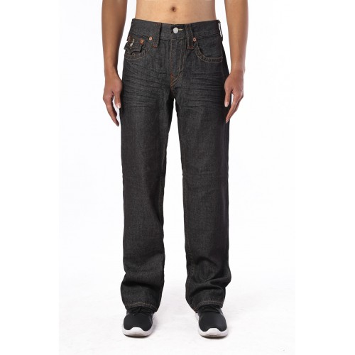 Black Slim True Religion Men's Jeans
