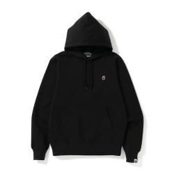 Bape One Point hoodie Black