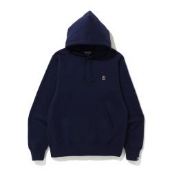 Bape One Point hoodie Navy Blue