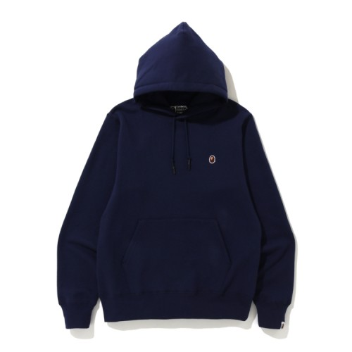 Bape One Point hoodie Navy Blue