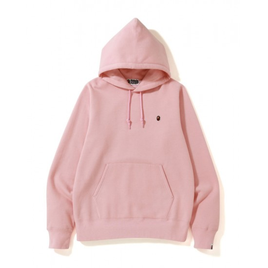 Bape One Point hoodie Pale Pink