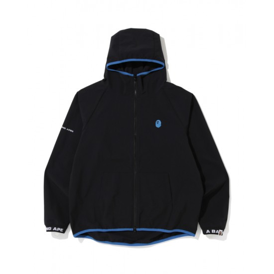 Bape Ape Head zip hoodie Black