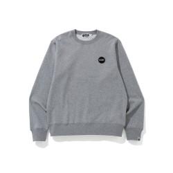 Bape WGM Shark emblem sweatshirt Grey