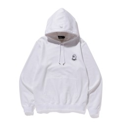 Bape Mr Bathing Ape patched hoodie White