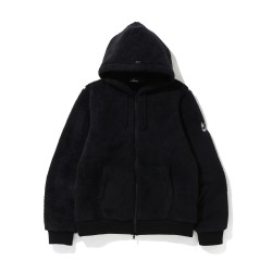Bape Mr Boa zip hoodie Black