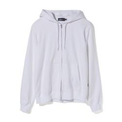 Bape Mr Bathing Ape Embroidery zip hoodie White