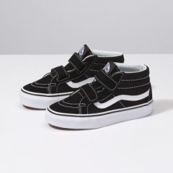 Vans Kids Shoes Kids Sk8-Mid Reissue V black/true white