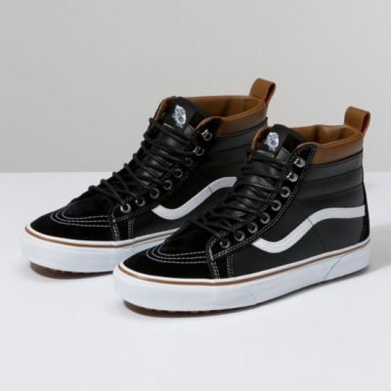 Vans Men Shoes Sk8-Hi MTE LEATHER/BLACK/TRUE WHITE