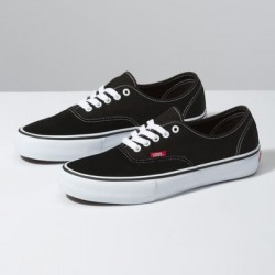 Vans Men Shoes Authentic Pro Black/True White