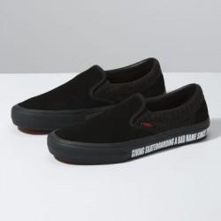 Vans Men Shoes Vans x Baker Slip-On Pro Black/Black/Red