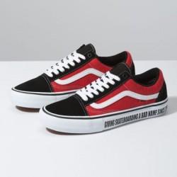 Vans Men Shoes Vans x Baker Old Skool Pro Black/White/Red