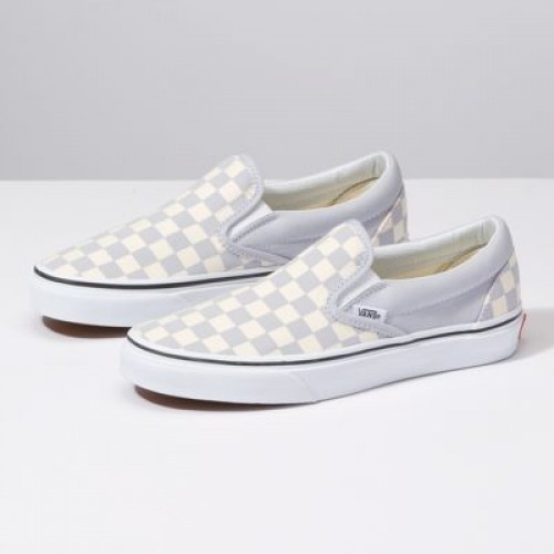 Vans Women Shoes Checkerboard Slip-On