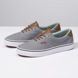 Vans Men Shoes C&L Era 59 Frost Gray/Acid Denim