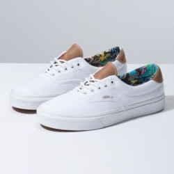 Vans Women Shoes C&L Era 59 Multi Floral/True White