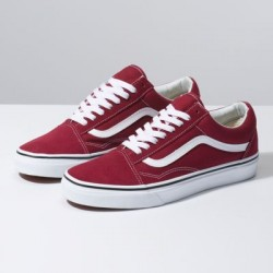 Vans Women Shoes Old Skool Rumba Red/Off White
