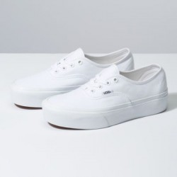 Vans Women Shoes Authentic Platform 2.0 True White