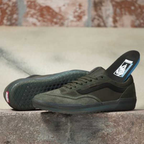 Vans Women Shoes Rainy Day AVE Pro Forest Night/Black