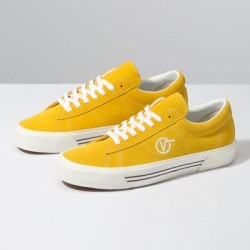 Vans Men Shoes Anaheim Factory Sid DX OG Yellow/Suede