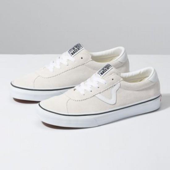 Vans Women Shoes Suede Vans Sport White