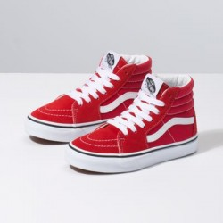 Vans Kids Shoes Kids Sk8-Hi Racing Red/True White