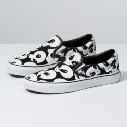 Vans Men Shoes Alien Ghosts Slip-On Black/True White