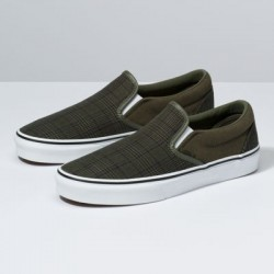 Vans Men Shoes Suiting Slip-On Grape Leaf/True White