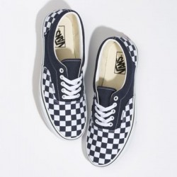 Vans Women Shoes Checkerboard Era Night Sky/True White