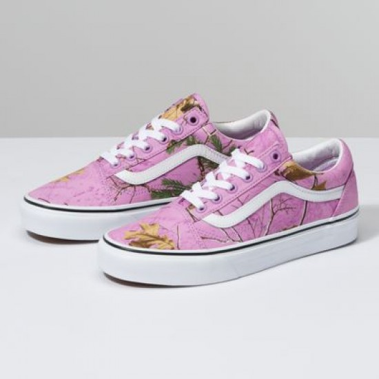 Vans Women Shoes Realtree Xtra® X Vans Old Skool Wild Orchid