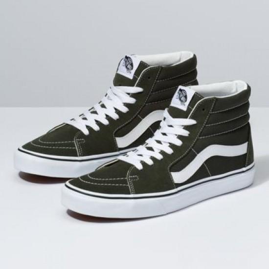 Vans Men Shoes Sk8-Hi Forest Night/True White