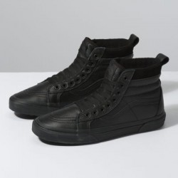 Vans Women Shoes Sk8-Hi MTE Leather/Black