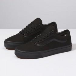 Vans Men Shoes Canvas Old Skool Black/Black