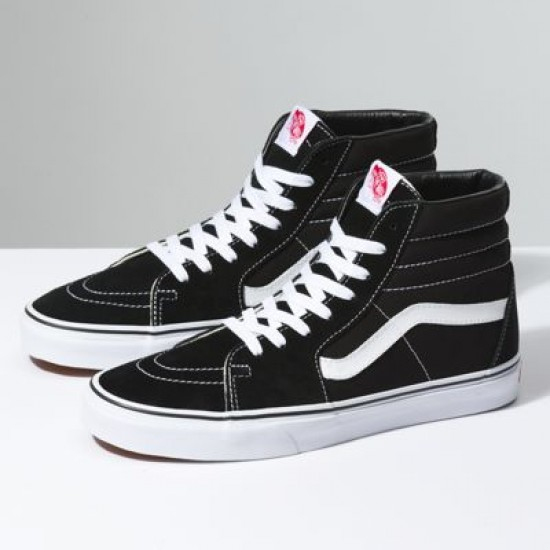 Vans Women Shoes Sk8-Hi Black/White
