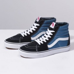 Vans Women Shoes Sk8-Hi Navy/White