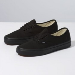 Vans Men Shoes Authentic Black/Black