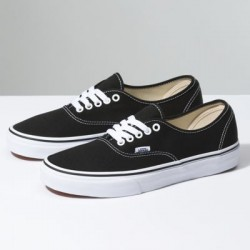 Vans Men Shoes Authentic Black