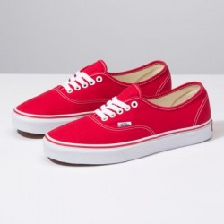 Vans Women Shoes Authentic Red