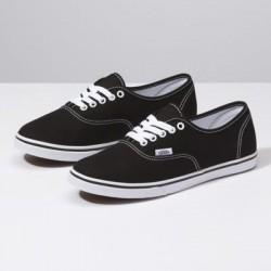 Vans Women Shoes Authentic Lo Pro Black/White