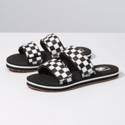 Vans Women Shoes Womens Cayucas Slide Black/Marshmallow