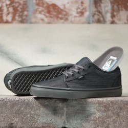 Vans Men Shoes Chukka Low Denim black/pewter