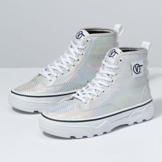 Vans Women Shoes Glory Check Sentry WC True White/Black