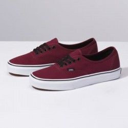 Vans Men Shoes Authentic Port Royale Red/Black