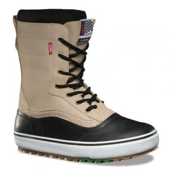 Vans Women Shoes Jake Kuzyk Standard MTE Snow Boot Black/Khaki