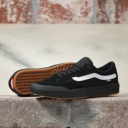 Vans Men Shoes Berle Pro Black/Black/White