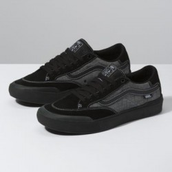 Vans Men Shoes Croc Berle Pro Black/Pewter