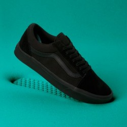 Vans Women Shoes ComfyCush Old Skool Black/Black