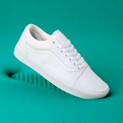 Vans Women Shoes ComfyCush Old Skool True White/True White