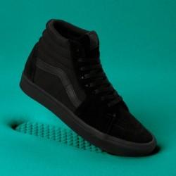 Vans Women Shoes ComfyCush Sk8-Hi Black/Black
