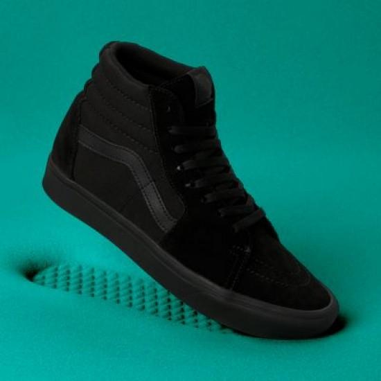 Vans Men Shoes ComfyCush Sk8-Hi Black/Black