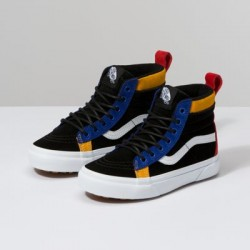 Vans Kids Shoes Kids Sk8-Hi MTE Black/Surf The Web