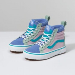 Vans Kids Shoes Kids Sk8-Hi MTE Lilac Snow/Ultramarine